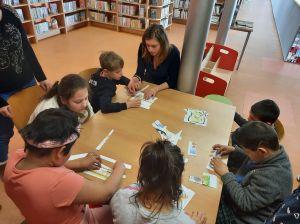 Čtení v městské knihovně 28.2.2020 2